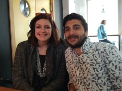 Lunch w/ Alpur - Jeremy's friend from Turkey! I'm lucky my boyfriend has really cool friends (no surprise)!