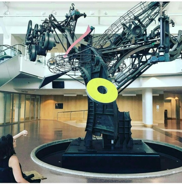 A Tinguely* Feeling: reflections on global art in a small town